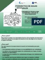 5.2.1 Fundamentos tecnicos para el muestreo y analisis de aguas residuales