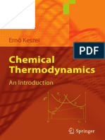Chemical Thermodynamics (Ernő Keszei)