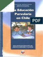 educacion parvularia en chile 2001