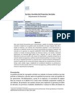 UNIV JAVERIANA-Formulacion y Gestion Social de Proyectos
