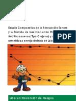 Apuntes - Estudio Comparativo Atenuacion Sonora