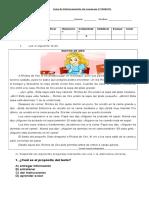Guía de Reforzamiento de Lenguaje 4º BÁSICO