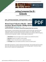 Brand Asset Valuator Model – BAV Model to Measure Brand Equity (Philip Kotler Summary) – Marketing Lessons for B-Schools