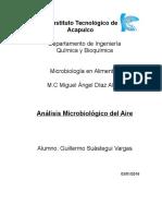 1- Analisis Microbiologico Del Aire