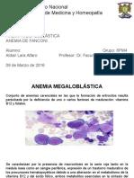 Anemia Megaloblástica y de Fanconi