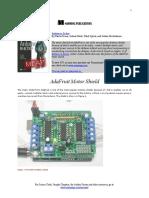 AdaFruit-MotorShield