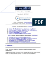 6 Plus 6 - Newsletter du Club Alliances - No1 - #Cloud #SaaS #BPaaS #IBM