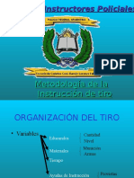 Metodología de La Instruccion de Tiro 2007