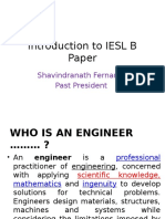 1. Introduction to IESL B Paper