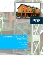 Graham Street Lofts Case Study (Report)