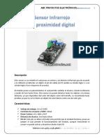 Sensor Infra r Rojo Digital 2