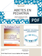 Diabetes en Pediatría