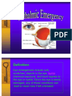 ophthalmic emergency