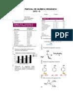 Examen Parcial de Química Orgánica 2013 II