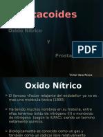 Autacoides - NO y PG