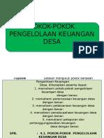 SPB 4.1. POKOK KEUANGAN DESA.ppt