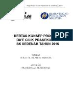 Kertas Kerja Program Da'e Cilik 2016