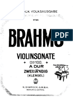 Brahms - Violin Sonata in A Op.100 2H (Klengel).pdf