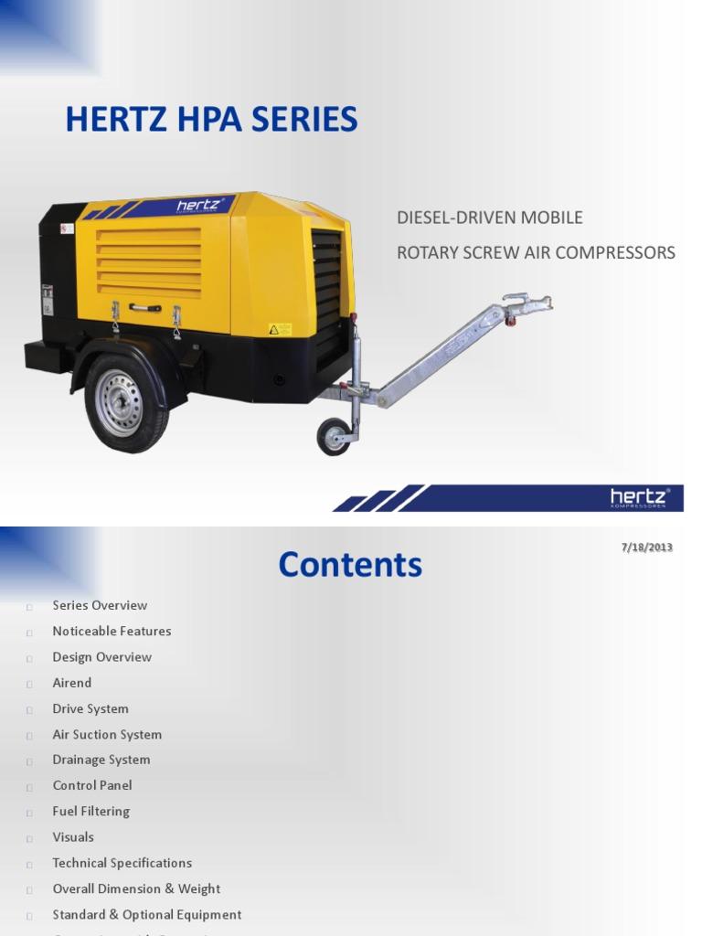 Hpa Series_en r01eo | Gas Compressor | Engines