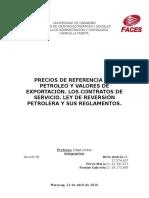 Precios de Referencia Petroleo.docx