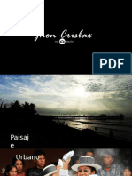 Texto promocional - Jhon Crisbax