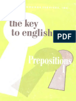 The Key to English Prepositions