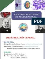 01 Bienvenidos Al Curso de Microbiología Fcb