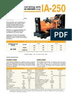 Diesel generator | IVECO Generating set Dubai