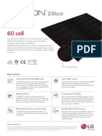 LG 300 Watt Neon2 Residential Solar Panel
