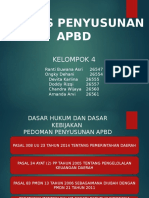 Penyusunan APBD