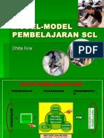 MODEL-MODEL PEMBELAJARAN SCL.ppt