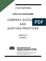 CompanyAccountsand AuditingPractices