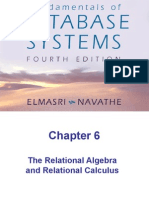 Chap6-The Relational Algebra and Relational Calculus