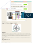 Controlling a Stepper Motor With an Arduino - All as PDF