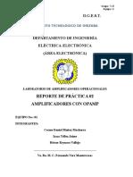 Amplicador Inversor y Amplificador no Inversor con OPAMP