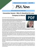 PSA Newsletter April 2016