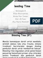 Bleeding Time Kelompok 8