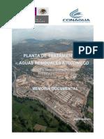 Memoria Documental Planta de tratamiento de agus residuales de Atotonilco.pdf