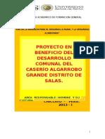 Proyecto Algarrobo Grande