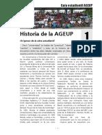 Historia de La AGEUP