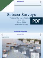 Subsea Survey