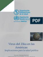 Virus Zika en Las Americas