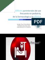 Antibioticos Frecuentes de Uso en Pediatria, De La Farmacologia a La Clinica