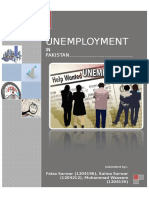 Unemployment In Pakistan