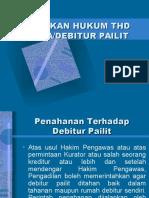 Tindakan Hk Thp Debitur Pailit (Pertemuan VI)