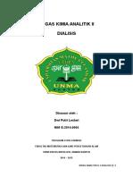 Dialisis Tugas Kimia Analitik II