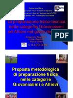 Proposta Metodologica Di Preparazione Fisica Giovanissimi e Allievi_Ruspantini