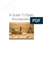 A Guide to Basic Woodworking