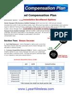 Lightyear Wireless Business Detailed Compensation Plan