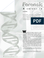 Forensic Scientist a Career in a Lab
